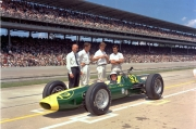 Lotus won in 1963 bijna de Indy 500 met Jim Clark