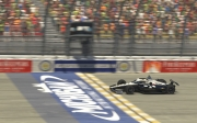 Simon Pagenaud wint de iRacing Challenge race op Michigan