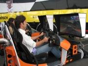 De nieuwe Champ Car game werd op de SEMA Show aan het publiek voorgesteld