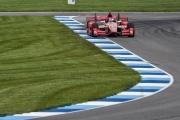 Scott Dixon op de Indianapolis Motor Speedway