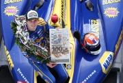 Alexander Rossi de maandag na zijn Indy 500 zege