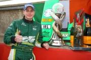 De 2008/09 A1GP Kampioen Adam  Carroll