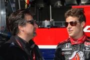 Michael Andretti, Marco Andretti, Barber Motorsports Park