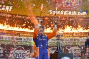 Scott Dixon in Victory Lane op Texas Motor Speedway