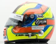 De helm van Matt Halliday