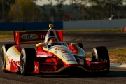 Helio Castroneves test op Sebring
