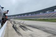 De opdrogende oval van Texas Motor Speedway