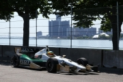 Mike Conway in Detroit