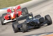 Will Power tijdens de open test op Sebring
