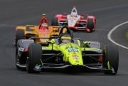 S�bastien Bourdais voor Ryan Hunter-Reay en Josef Newgarden, Indianapolis