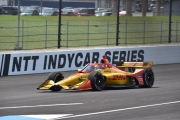 Ryan Hunter-Reay, Indianapolis Infield