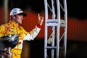 Ryan Hunter-Reay viert het kampioenschap, Fontana