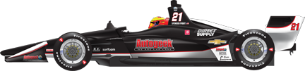 Spencer Pigot car side Gateway